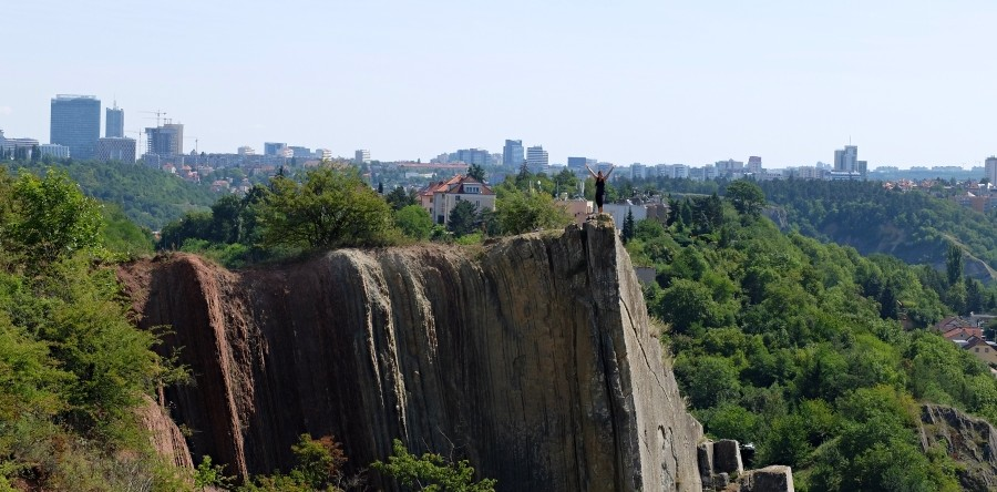 Prague from the Cliffs – Half Day Hike